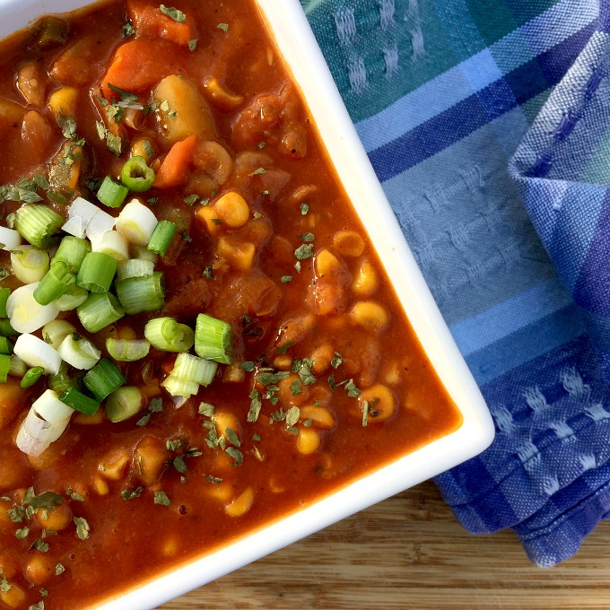 This hearty soup is packed with whatever veggies and beans you have on hand. It's full of flavor and foolproof.