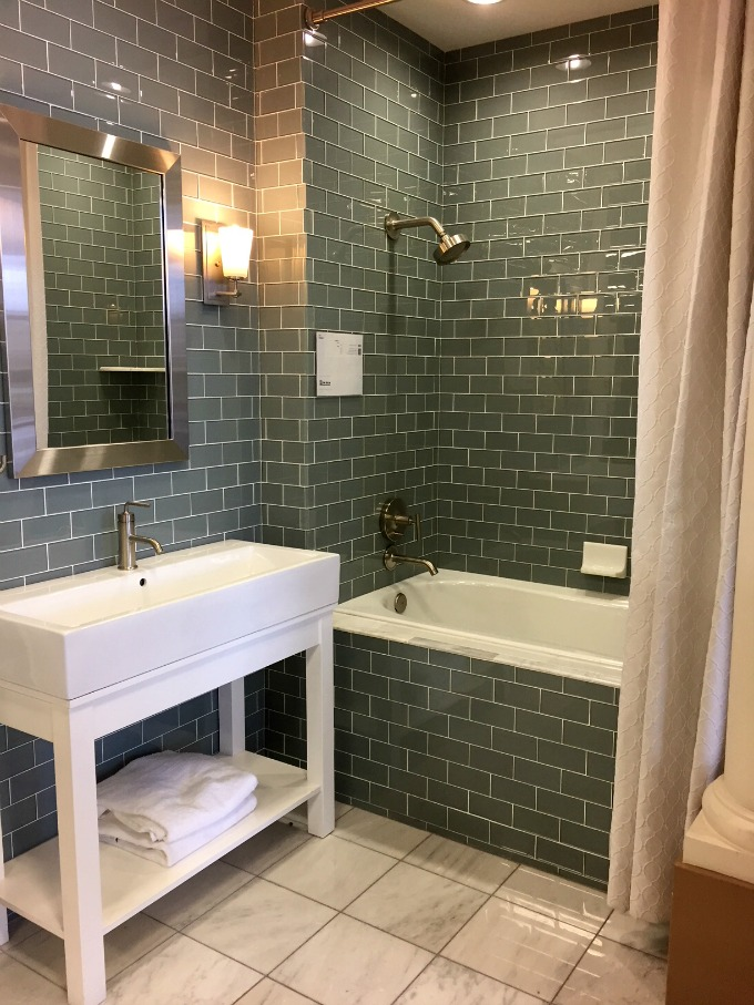 Bathroom Tile Shopping - Clean Eats, Fast Feets
