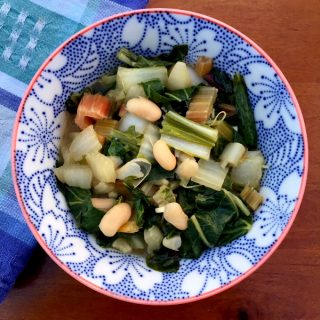 Garlicky Good Greens and Beans Recipe (Vegan)