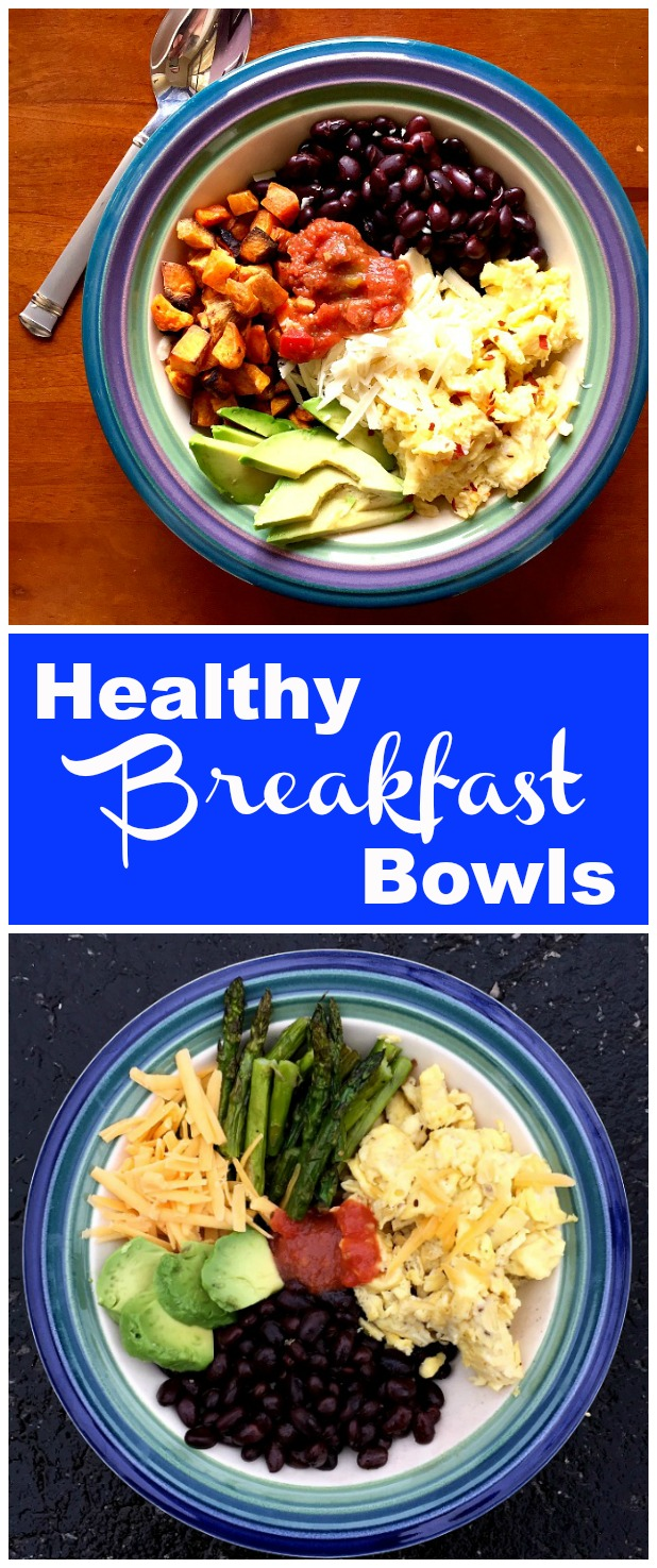 Healthy And Tasty Scrambled Egg Breakfast Bowls Clean