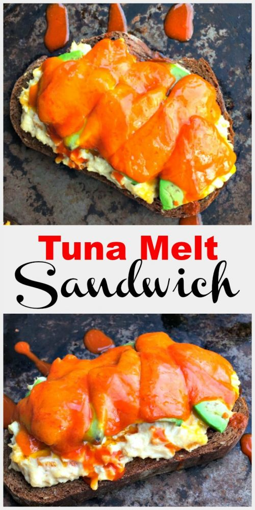 A simple, fast and flavorful tuna melt sandwich, with mix and match options to please everyone.